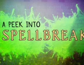 A small peek into Spellbreak