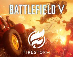 Battlefield V Fire storm Battle royal game